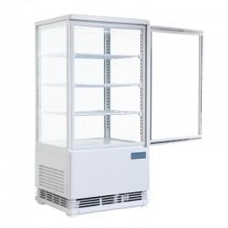 polar - Vitrine réfrigérée portes incurvées 86 litres
