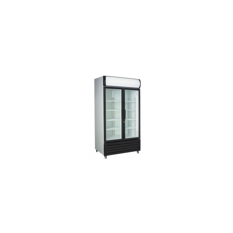 Combisteel - Vitrine à boissons 2 portes vitrées 670 litres