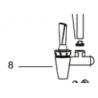 Robinet pour distributeur d'eau CDEC68