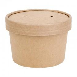 Pots à soupe compostables en PLA Fiesta Green 98 mm (x500)