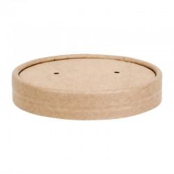 Couvercle en papier pour pots à soupe 738ml / 909ml FB166 et FB168