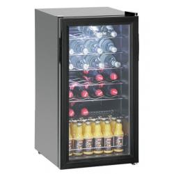 Réfrigérateur de boissons 88L, 28 bouteilles