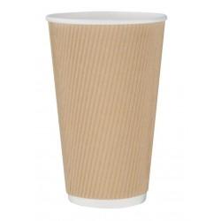 Gobelets papier compostables double paroi boissons chaudes Fiesta Green 340 ml