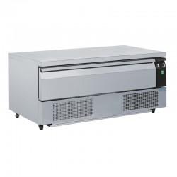 Soubassement double réfrigération 1 tiroir Polar Série U 3x GN 1/1