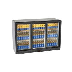 Arrière bar réfrigérée 3 portes vitrées - MD030RW
