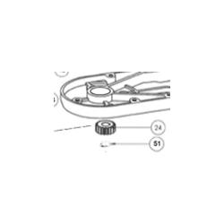 Engrenage - Pour batteur mélangeur Pluton 07