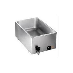 Bain-marie gaz spécial triporteur - option