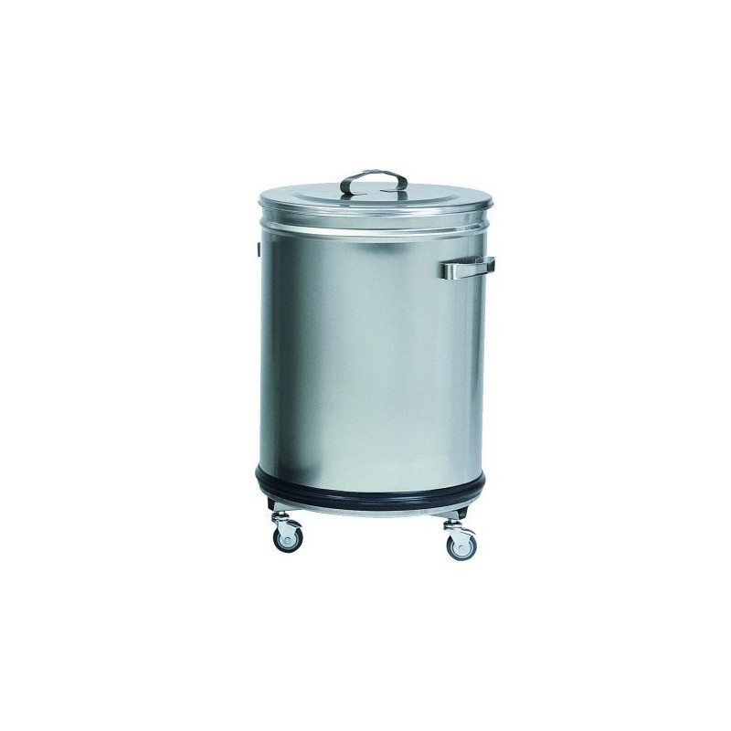 achat vente poubelle inox cylindrique 100 litres fimar. Black Bedroom Furniture Sets. Home Design Ideas