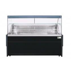 Comptoir d'exposition noir 2500 mm - VSA2500D.V1B Collin Lucy