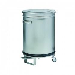 Fimar - Poubelle cylindrique avec ouverture pédale