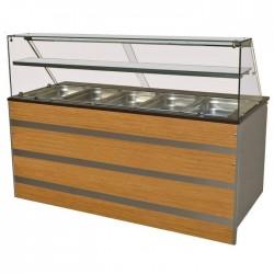 Buffet réfrigératée GN 5/1...
