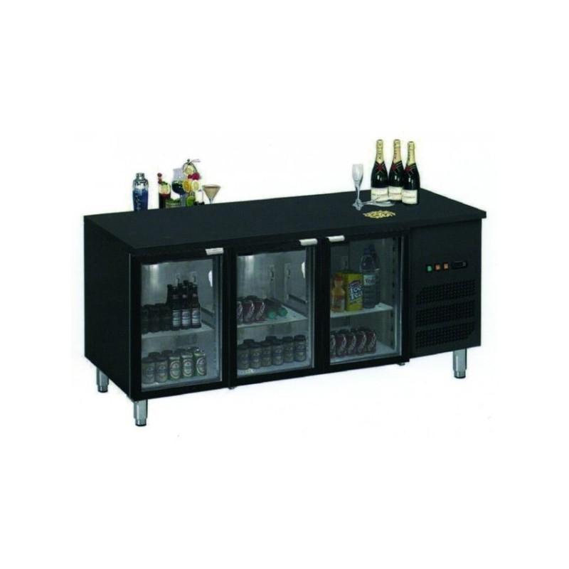 Mercatus - Arrière bar réfrigérée 3 portes