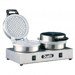 Dualit - Gaufrier double en fonte