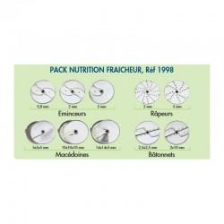 Robot coupe - Pack nutrition fraicheur