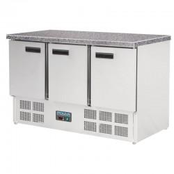 Polar - Table réfrigérée avec marbre