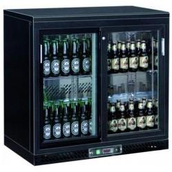 Arrière bar réfrigérée 2 portes vitrées - MD020RW