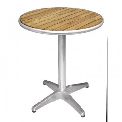 Nisbets - Table ronde en frêne 600 mm Bolero