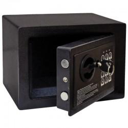 Mini coffre-fort d'hôtel noir GC607