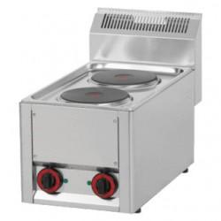 RM Gastro - Plan de cuisson 2 plaques électriques