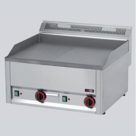 RM Gastro - Grill rainuré en acier