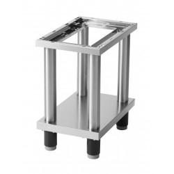 RM Gastro - Support / soubassement ouvert avec étagère basse pour 1 élément de 330 mm