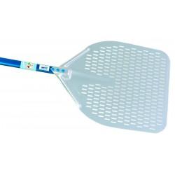 Gimetal - Pelle rectangulaire flexible effet spatule perforée