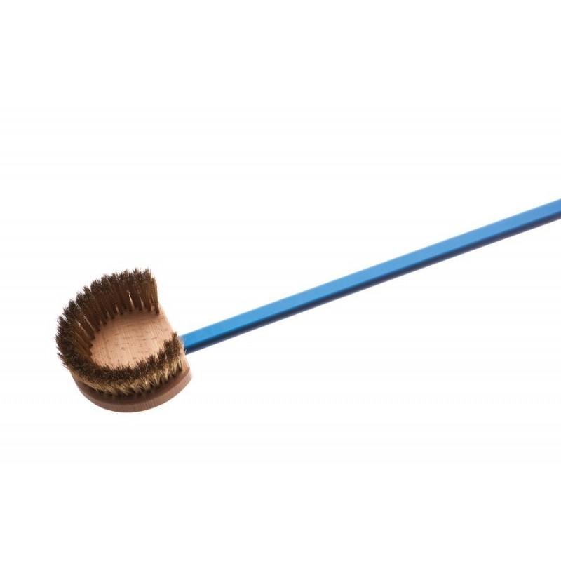Gimetal - Brosse manche alu poils laiton