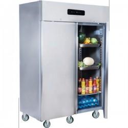 Armoire réfrigérée inox 1400 litres Froid négatif (-10° -22°C)