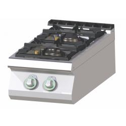 RM Gastro - Plan de cuisson 2 feux vifs version TOP