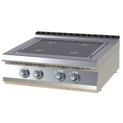 RM Gastro - Plan de cuisson induction 4 zones version TOP