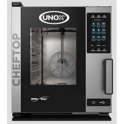 Unox - Four mixte CHEFTOP Plus 5 niveaux GN 1/1 COMPACT