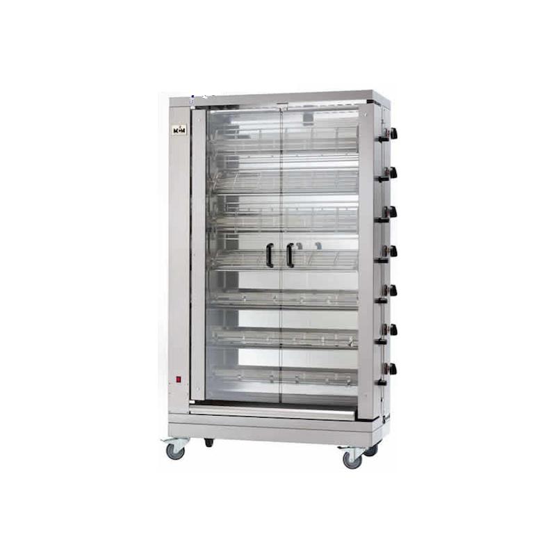 MCM - Rôtissoire verticale gaz 7 broches