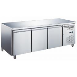 Le Shopping du Chef - Table réfrigérée 3 portes sans dosseret