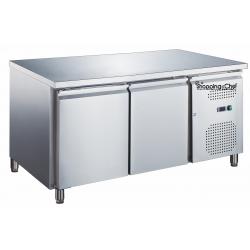 Le Shopping du Chef - Table réfrigérée 2 portes sans dosseret