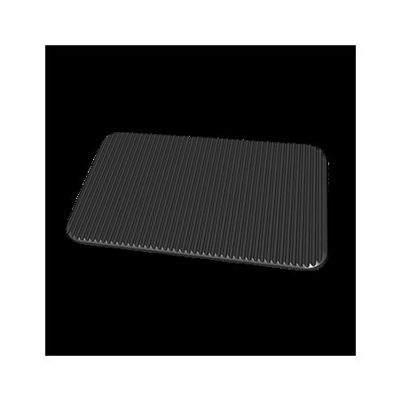 Unox - Plaque anti-adhérente en aluminium anti-adhérente à rainures pour faire des grillades