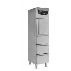 Combisteel - Armoire réfrigérée compacte 1 porte et 3 tiroirs