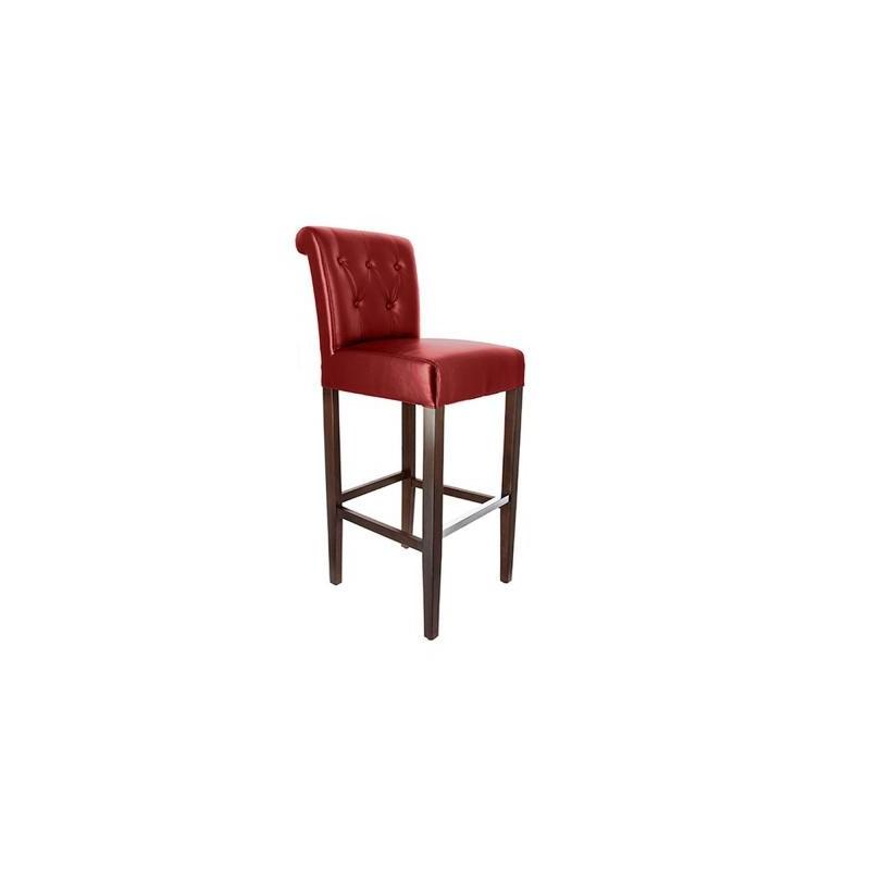 ligne chr chaise haute de restaurant capitonn e toile. Black Bedroom Furniture Sets. Home Design Ideas