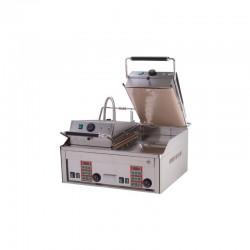 RM Gastro - Plaque à snacker CLAM'S avec 2 presses