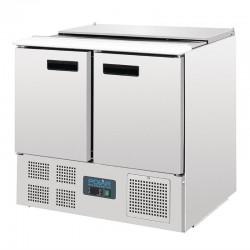Polar - Comptoir réfrigéré à salades 240 litres