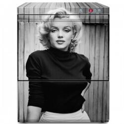 Lave verres Graphic panier de 350 x 350 mm Marylin Monroe