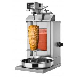 Gril kebab gaz 1 brûleur / 5 kg