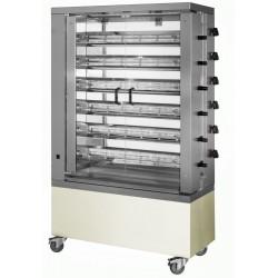 MCM - Rôtissoire verticale gaz 6 broches