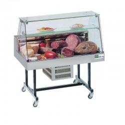 Vitrine réfrigérée spéciale marché - Vente directe - 1260 mm