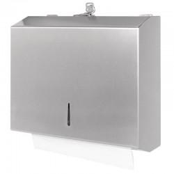 Distributeur d'essuie-mains en acier inoxydable Jantex