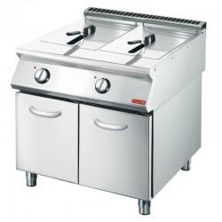Friteuse électrique Gastro M 2x 10L 70/80FRE