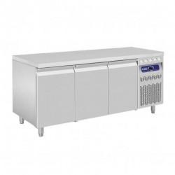 Diamond - Table frigorifique ventilée 3 portes GN 1/1 de 405 Litres