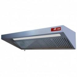 Diamond - Hotte complète (8/9T-2500 M3/h) 120 Pa, éclairage, variateur, 4 filtres
