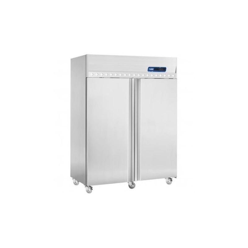 Diamond - Armoire frigorifique ventilée 1400 Lit. 2 portes GN 2/1, sur roues