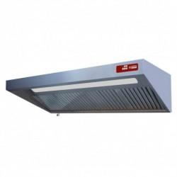 Diamond - Hotte complète (7/7-1500 M3/h) 120 Pa, éclairage, variateur, 3 filtres