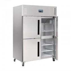 Polar - Armoire réfrigérée 1200 litres négative  4 portillons GN 2/1